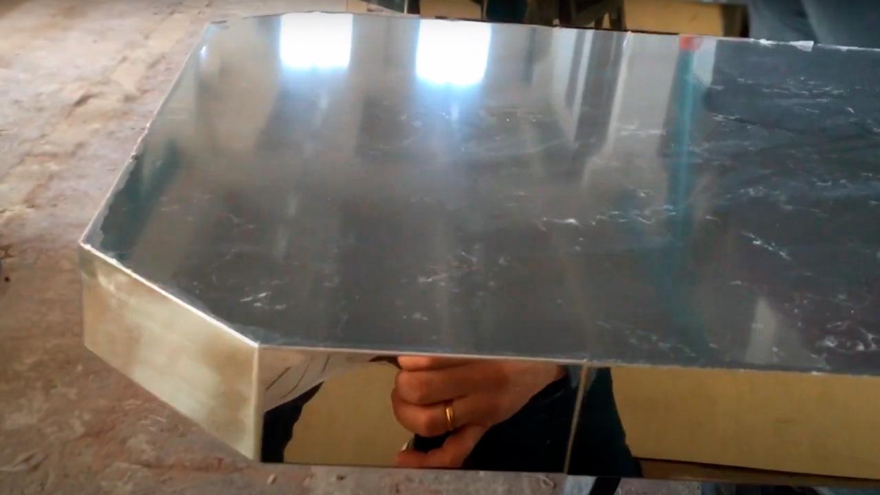 Изготовление столов из кварцевого камня для Hookah Place